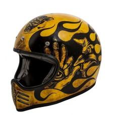 Premier MX BD 12 Helmet Yellow