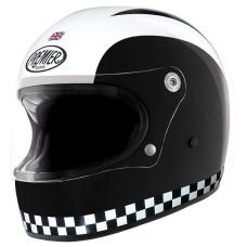 Premier Trophy Retro Helmet Blk/Wht