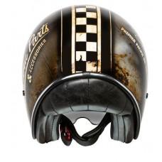 Premier Vintage OP 9 Helmet Custom Brown