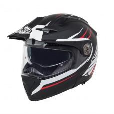 Premier X-Trail Modular 92 Helmet Blk/Wht/Red