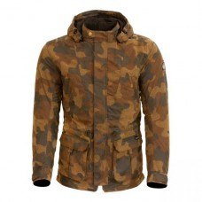 Merlin Belmont Camo Wax Jacket Tan
