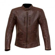Merlin Draycott Leather Jacket Oxblood