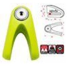 Kovix KV Alarm Disc Lock 6mm Flou Green
