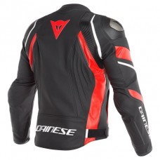 Dainese Avro 4 Jacket Black Lava Red White