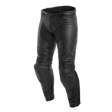 Dainese Assen Leather Pants Black Anthracite