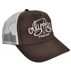 Oily Rag Clothing Speed Shop Trucker Cap Brow