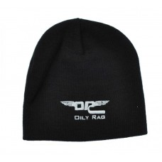 Oily Rag Clothing Winged Beanie Blk