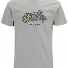 Oily Rag Clothing Bike Tee Grey