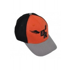 Oily Rag Baseball Cap Flying Wings Black/Oran