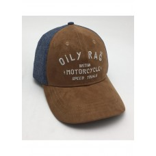 Oily Rag British M'Cycle Speed Trials Cap Brn