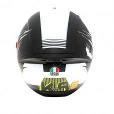 AGV K5 Helmet Darkstorm Black Yellow