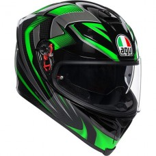 AGV K5 Helmet Hurricane 2.0 Black/Green