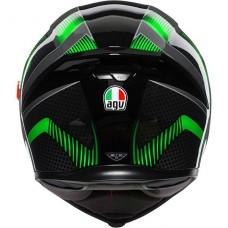 AGV K5 Helmet Hurricane 2.0 Black/Green