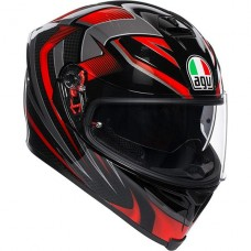 AGV K5 Helmet Hurricane 2.0 Black/Red