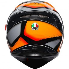 AGV K3 SV Helmet Liquefy Black Orange