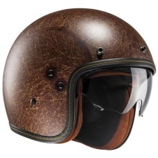 HJC FG70S Vintage Open Face Brown