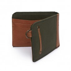 Royal Enfield Canvas Leather Wallet