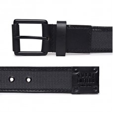 Royal Enfield Leather Webbing Belt Black
