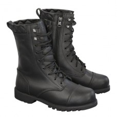 Merlin Ladies Combat Boot Black