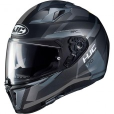 HJC I70 Full Face Helmet Black/Grey