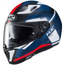 HJC I70 Full Face Helmet Blk/Red/White/Blue