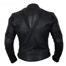 Weise Diablo Leather Jacket Black