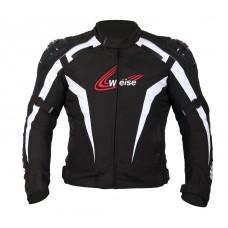 Weise Ascari Jacket Black and White
