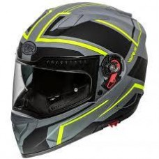 Premier Vyrus ND Y Helmet Grey/Neon Large